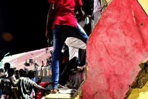 세네갈 축구 경기장 붕괴 적어도 57명 사상
