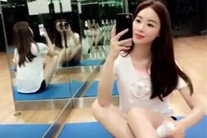 양정원, 종아리 마사지로 '남심저격'