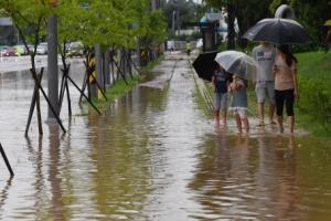 청주 290㎜ '물폭탄'에 17일 5개교 휴교·단축수업