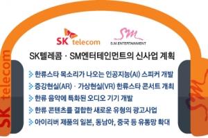 SKT·SM엔터 'ICT+ 한류' 슈퍼빅딜