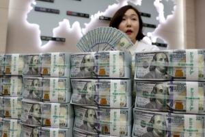 원/달러 환율 소폭 상승…4거래일만에 반등