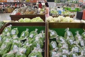 [서울포토] 폭우로 일부 농산물 가격 '고고'