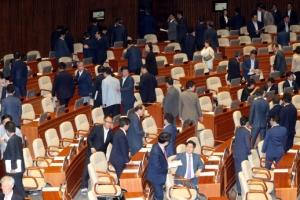 추경·정부조직법, 18일 국회 본회의 처리 무산
