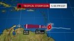 美 열대폭풍 이름이 '도널…