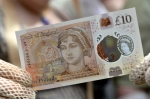 영국 10파운드 새 지폐의…