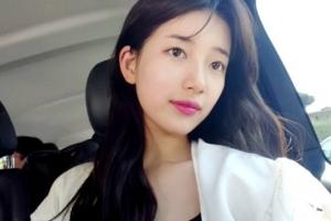 수지, 청순 미모 '오늘도 예쁨'