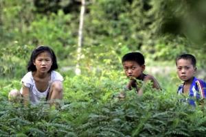 [포토] 북한 어린이들의 여름 나기