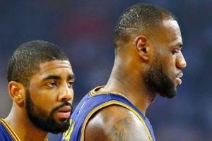 """[NBA] 카이리 어빙 폭탄선언 """"제임스와 더 함께 하고 싶지 않아"""""""