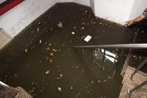 인천 폭우 피해 주택 지하에서 숨진 90대 노인 발견