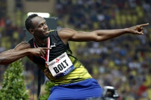 은퇴 앞둔 볼트, 100m 9초95 워밍업…화려한 피날레 아이 엠 레디!