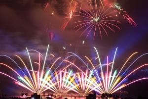 평창올림픽 G-200 성공 기원 불꽃축제