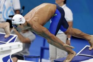 박태환, 세계선수권 자유형 400m 결승에서 4위