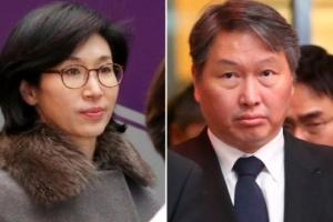 최태원 회장, 아내 노소영 관장에 이혼 조정 신청…법정공방