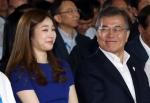 文대통령-김연아, 평창올림…