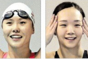 한국 수영史 다시 쓴 안세현·김서영