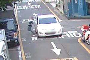[영상] 음주 단속 피하려다 뺑소니에 추돌사고까지‥만취 운전자 검거