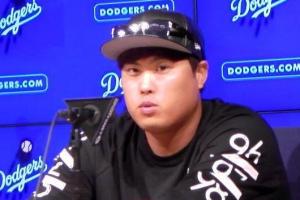 류현진, 후반기 첫 등판서 5이닝 2실점…시즌 4승은 불발