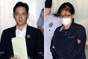 [포토] 최순실, 이재용 재판에 증인 소환