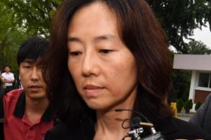 [서울포토] 집행유예 선고받고 석방된 조윤선