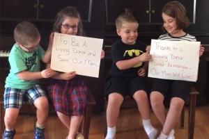 희귀병 엄마 수술 위해 SNS에 영상 찍어 올린 아이들