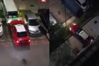 늦은밤 택시 좌충우돌 사고…원인은?