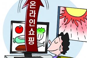 [폭염이 부른 '무더위 특수' 2제] '온라인 장보기' 매출 껑충