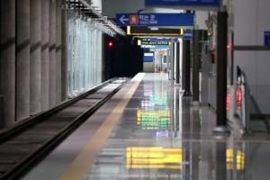 공항철도 검암역 열차에 치여 1명 사망…운행 30분 지연