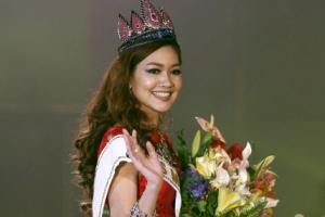 [포토] '최고 미인 됐어요'… 미스 미얀마의 화사한 미모