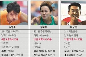 17人의 '한국 육상' 뛴다