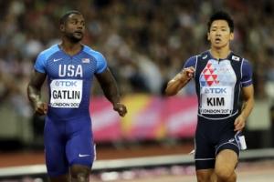 김국영 10초24…한국 육상 최초로 세계선수권 100m 준결승 진출