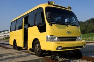 코레일이 개발중인 '레일 버스'