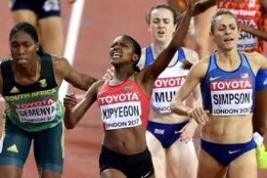 1500m 우승 킵예곤보다 빛난 세메냐의 역전 동메달