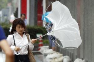 태풍 '노루' 일본 관통…강풍·폭우에 피해 잇따라