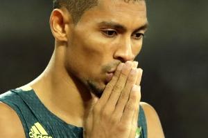 판니커르크  남자 400m 금메달, 적수 결장해 손쉬운 우승