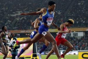 [포토] 프랜시스, 개인 최고기록 세우며 여자 400m '금메달'