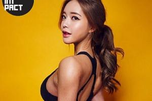 '섹시 파이터'로 변신…인혜빈, 건강미 넘치는 화보 공개