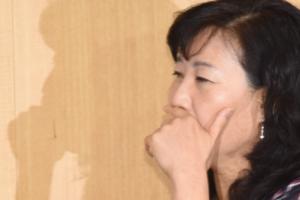 """'사퇴 압박' 박기영 """"일로써 보답""""…울음 터뜨리기도"""