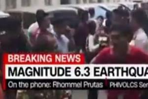 필리핀 루손섬서 규모 6.2 지진…마닐라 건물도 흔들려