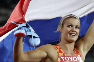 스히퍼르스 여자 200m 2연패 '단거리는 흑인' 편견을 넘다
