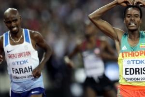 """모 파라 5000m 아깝게 은메달 """"가장 위대한 선수의 마지막"""""""