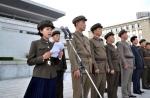 북한 김정은 잠행 속에 군…