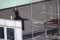 톰 크루즈 '미션임파서블6' 촬영 중 부상입어