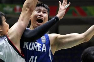 오세근 16득점 남자농구 광복절 일본 완파하고 8강행