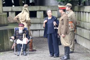 야스쿠니 신사에 등장한 제국주의 일본군
