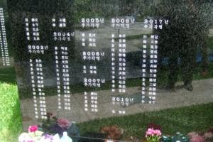 오키나와 위령비 '평화의 초석' 한인 희생자 15명 추가 등재