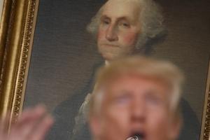 """""""조지 워싱턴도 노예 소유, 동상 치워야하나"""" 트럼프 발언 논란"""