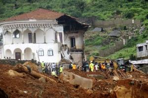 시에라리온 산사태… 1000여명 사망·실종