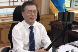 文대통령, 오늘 '대국민 국정보고'…토크쇼 형식 생방송