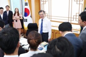 여민관 대통령 집무실 등 첫 공개