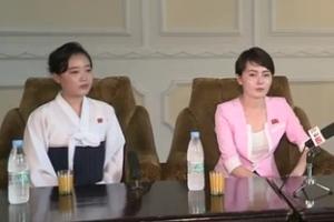 재입북 임지현, 북한 매체에 또 나온 이유…함께 나온 20대 여성 때문?